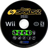Deca Sports 2 (Demo) Wii disc (D2SE18)
