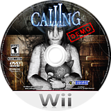 Calling (Demo) Wii disc (DCAE18)
