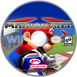 Mario Kart Wii 2 CUSTOM disc (DMKE01)