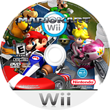 Kustom Mariokart Wii CUSTOM disc (DUCE01)