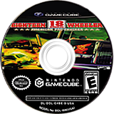 18 Wheeler: American Pro Trucker GameCube disc (GWEE51)