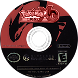 Pokémon XG: Next Gen CUSTOM disc (GX2E01)