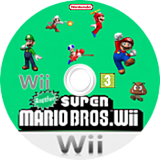 Another Super Mario Bros. Wii CUSTOM disc (PDUE01)