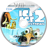 Ice Age 2: The Meltdown Wii disc (R2AE7D)