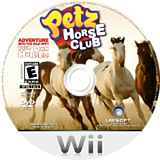Petz Horse Club Wii disc (R2HE41)