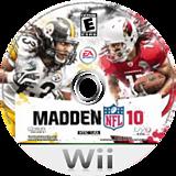 Madden NFL 10 Wii disc (R2IE69)