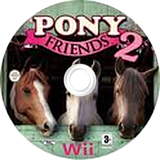 Pony Friends 2 Wii disc (R2RE4F)