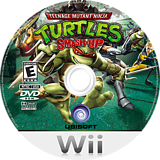 Teenage Mutant Ninja Turtles: Smash-Up Wii disc (R2TE41)