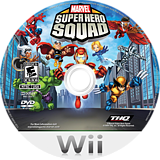 Marvel Super Hero Squad Wii disc (R38E78)