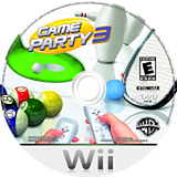 Game Party 3 Wii disc (R3EEWR)