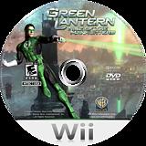 Green Lantern: Rise of the Manhunters Wii disc (R3LEWR)