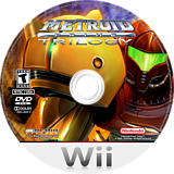 Metroid Prime: Trilogy Wii disc (R3ME01)