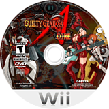 Guilty Gear XX Accent Core Plus Wii disc (R3NEXS)
