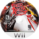Speed Racer: The Videogame Wii disc (R3PEWR)