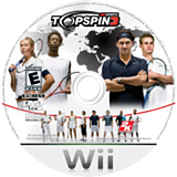 Top Spin 3 Wii disc (R3TE54)