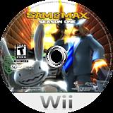 Sam & Max: Season One Wii disc (R3XE6U)
