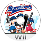 MLB Superstars Wii disc (R4SE54)