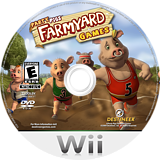 Party Pigs: Farmyard Games Wii disc (R5OENR)