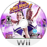 All Star Cheer Squad 2 Wii disc (R5YE78)