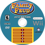 Family Feud 2010 Edition Wii disc (R6EE41)