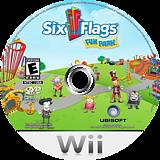 Six Flags Fun Park Wii disc (R6FERS)