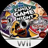 Hasbro: Family Game Night 2 Wii disc (R6XE69)