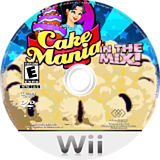Cake Mania: In The Mix! Wii disc (R72E5G)