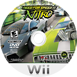 Need for Speed: Nitro Wii disc (R7XE69)