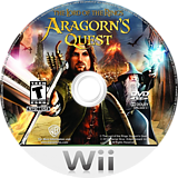 The Lord of the Rings: Aragorn's Quest Wii disc (R8JEWR)