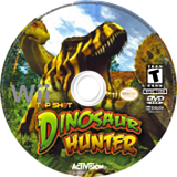 Top Shot Dinosaur Hunter Wii disc (R8XZ52)