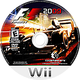F1 2009 Wii disc (R9FE36)