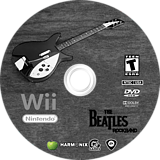 The Beatles: Rock Band Wii disc (R9JE69)