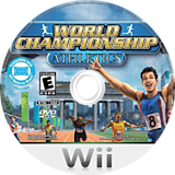 World Championship Athletics Wii disc (R9ME5Z)