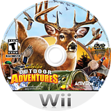 Cabela's Outdoor Adventures 2010 Wii disc (R9VE52)