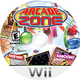 Arcade Zone Wii disc (R9XE52)