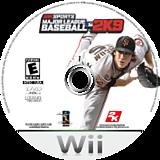 Major League Baseball 2K9 Wii disc (R9ZE54)
