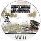Brothers In Arms: Earned In Blood Wii disc (RB5E41)