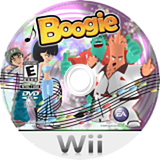 Boogie Wii disc (RBOE69)
