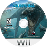 Sea Monsters: A Prehistoric Adventure Wii disc (RC7E20)