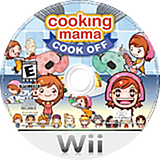 Cooking Mama: Cook Off Wii disc (RCCE5G)