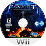 The Conduit Wii disc (RCJE8P)