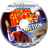Disney's Chicken Little: Ace in Action Wii disc (RCLE4Q)