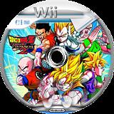 Dragon Ball Z: Budokai Tenkaichi 2 Wii disc (RDBE70)