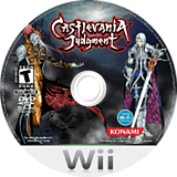 Castlevania Judgment Wii disc (RDGEA4)