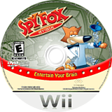 Spy Fox in Dry Cereal Wii disc (RDLE5G)