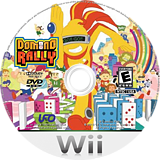 Domino Rally Wii disc (RDME6K)