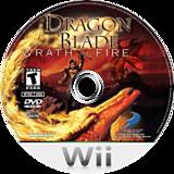 Dragon Blade: Wrath of Fire Wii disc (RDWEG9)