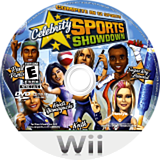 Celebrity Sports Showdown Wii disc (REAE69)