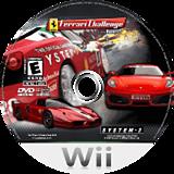 Ferrari Challenge: Trofeo Pirelli Wii disc (RF3E52)