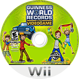 Guinness World Records: The Videogame Wii disc (RG5EWR)